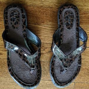 BOC Leopard Sandal